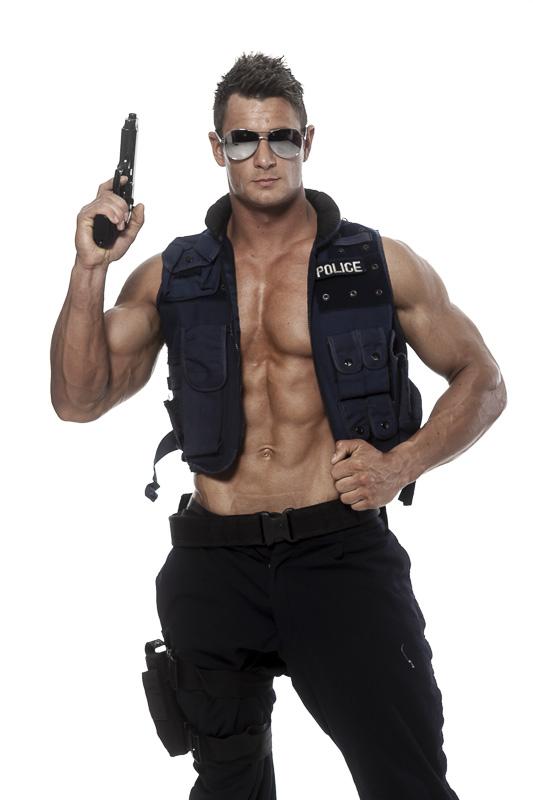 Blake male stripper 5
