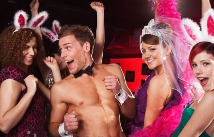Male strippers Celebrating