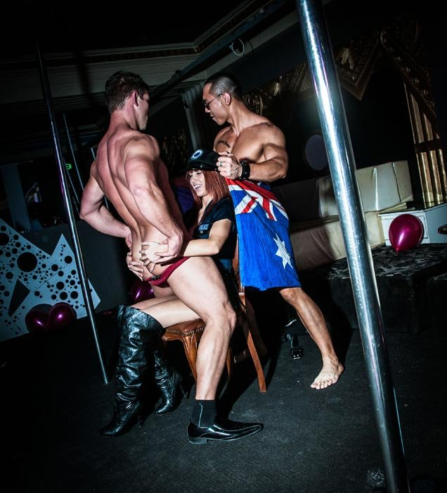 Double strip show in Melbourne