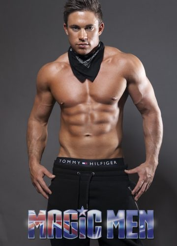 Channing in Magic Mike costume