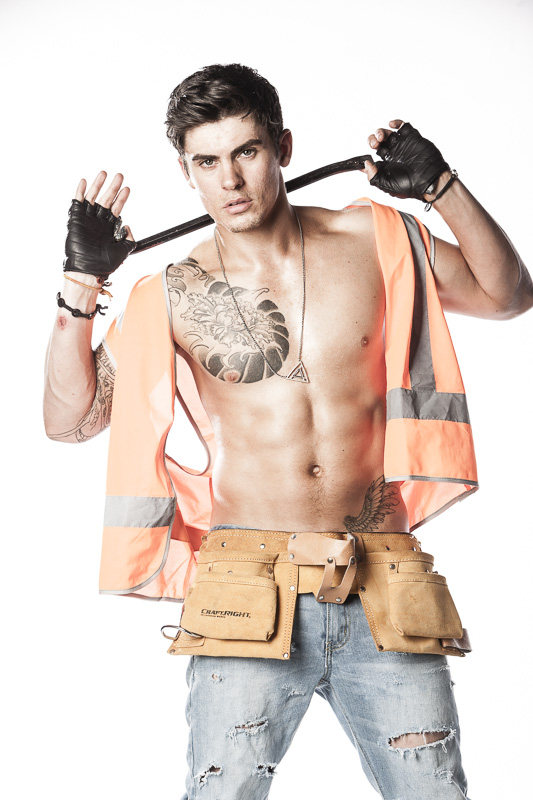 hot tradie stripper
